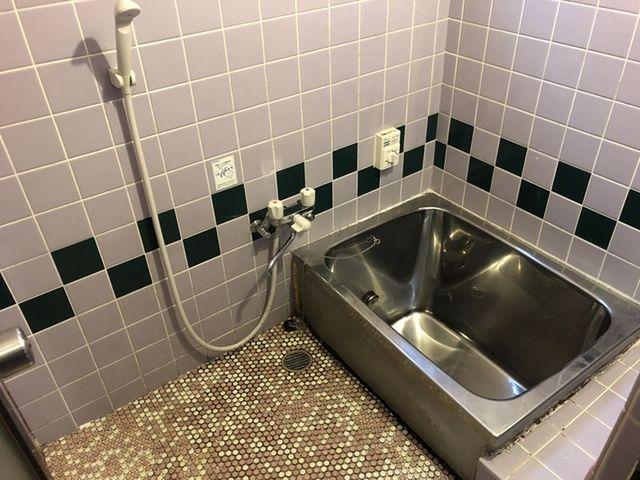 昔ながらのお風呂