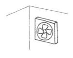 換気扇型プロペラファン