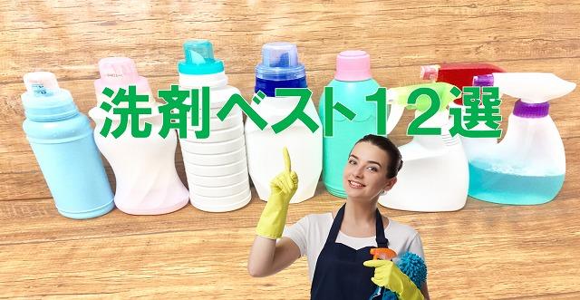 洗剤ベスト12選
