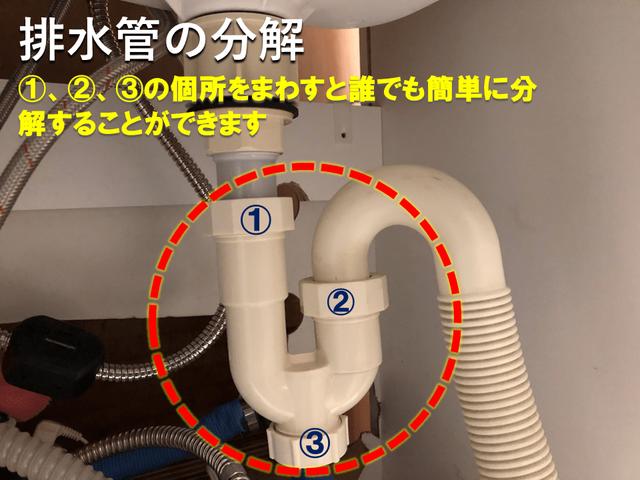 洗面台配管